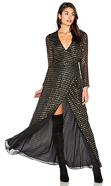 Dress 74 in Gold Dot