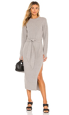 Long Sleeve Ribbed Dress LPA $139