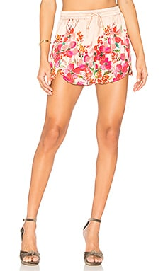 Shorts 194 in Border Floral