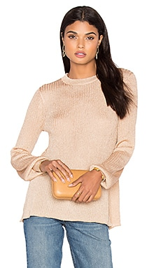 LPA Sweater 20 in Gold Lurex
