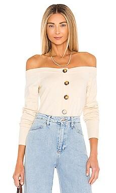 Peony Off Shoulder Sweater LPA $58