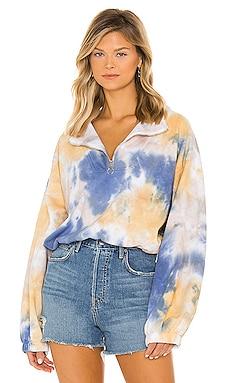 Mockneck Zip Sweater LPA $138