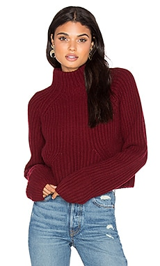 LPA Sweater 217 in Merlot