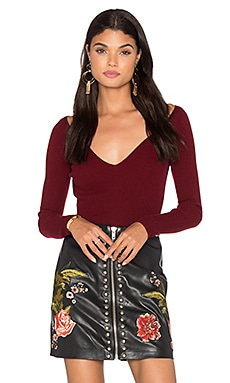 LPA Sweater 218 in Merlot