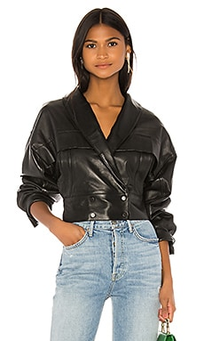 Billie Leather Jacket LPA $498 Collections