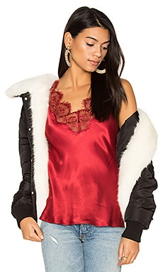 Coat with Faux Fur Trim 112