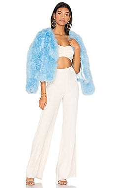 Feather Jacket 118 in Sinatra Blue