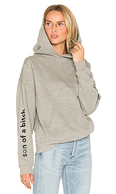 Hoodie 114 in Washed Grey