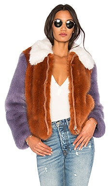 Faux Fur Jacket 413 LPA $164