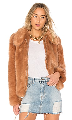 x REVOLVE Faux Fur Jacket 413
