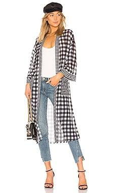 Sheer Kimono Robe