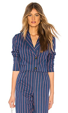Cropped Double Breasted Jacket LPA $41 (FINAL SALE)