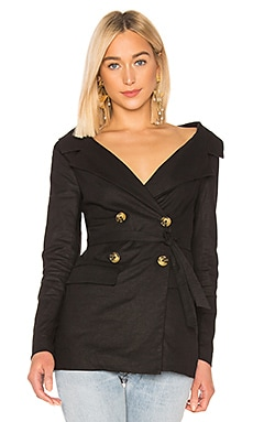 Wide Neck Blazer LPA $96