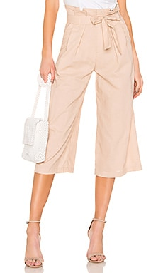 Wide Leg Paperbag Pant LPA $55