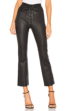 Fei Leather Moto Pants LPA $335