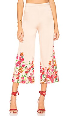 Pants 195 in Border Floral