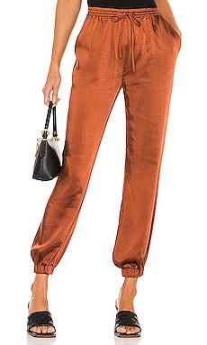 Elastic Waist Pant with Leg Cuff LPA $125