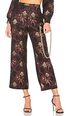 Купить Широкие брюки pant 518 - LPA, Стейтмент-брюки, Китай, Черный