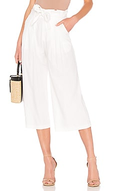 Wide Leg Paperbag Pant LPA $178 Collections