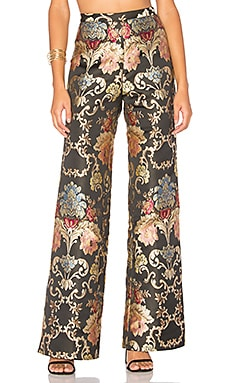 88 Pants in Floral Jacquard