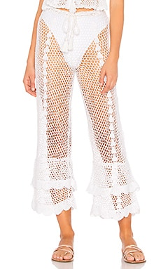 Crochet High Waist Culotte LPA $86 Collections