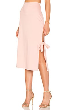 x REVOLVE Skirt 263 in Blush