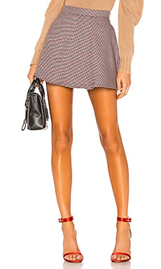 High Waist Mini Skirt LPA $128 NEW ARRIVAL