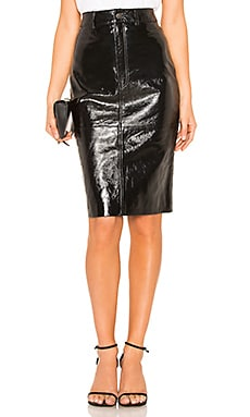 Patent Pencil Skirt LPA $278