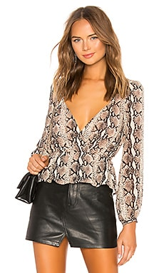 Pinched Shoulder Top LPA $148 BEST SELLER