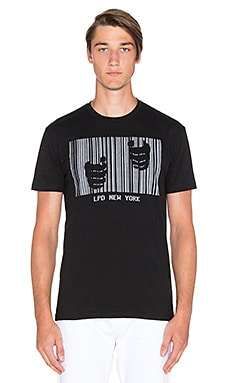 LPD New York 3M Bars Tee in Black