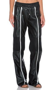 LPD New York Layer Trackpant in Black
