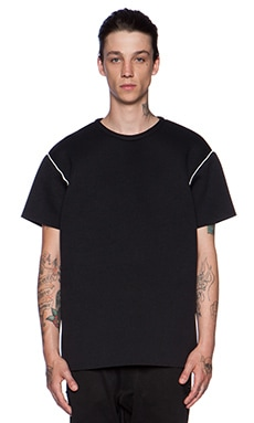 LPD New York x Adidas Oversized Tee in Black