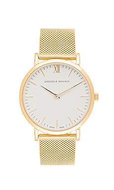 Lugano 40mm en Gold Chain Metal