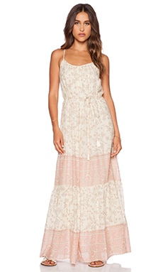 Love Sam Avery Maxi Dress in Blush Combo