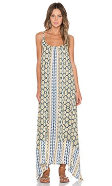Love Sam Emi Maxi Dress in Lemeki Print