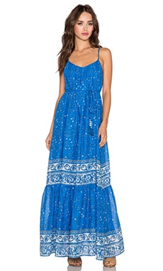 Love Sam Avery Maxi Dress in Ocean Combo