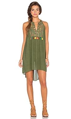 Love Sam Aviva Dress in Olive