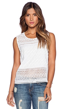 Love Sam Destiny Top in White