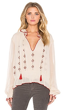 Love Sam Lena Blouse in Blush