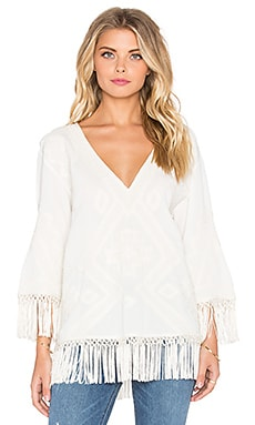 Love Sam Toni Blouse in Ivory