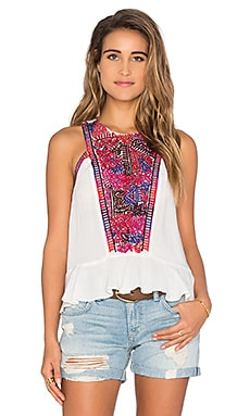 Love Sam Kassandra Top in Ecru