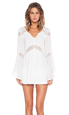 L*SPACE Bloomfield Tunic in Ivory
