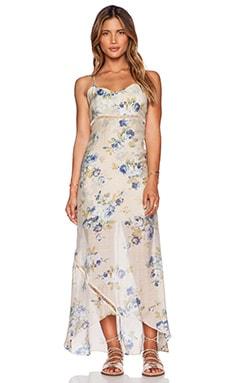 L*SPACE Misty Maxi Dress in Sage