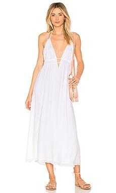 Фото - Платье beachside beauty - L*SPACE белого цвета