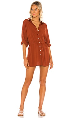 Pacifica Shirt Dress L*SPACE $99