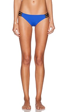 L*SPACE Low Down Bikini Bottom in Royal