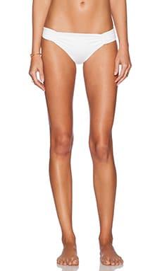 L*SPACE Monique Bikini Bottom in White