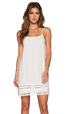 L*SPACE Venice Vibes Mini Dress in White