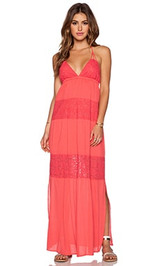 L*SPACE Goldie Maxi Dress in Geranium