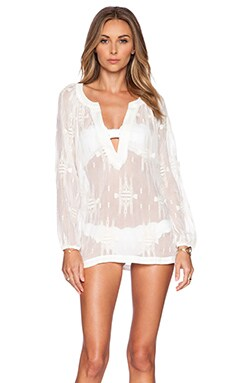 L*SPACE Sunset Tunic in White
